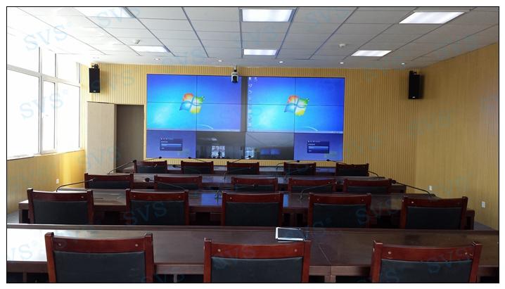 案例----某企业远程视频会议综合项目   一号无纸化远程视频会议室图片